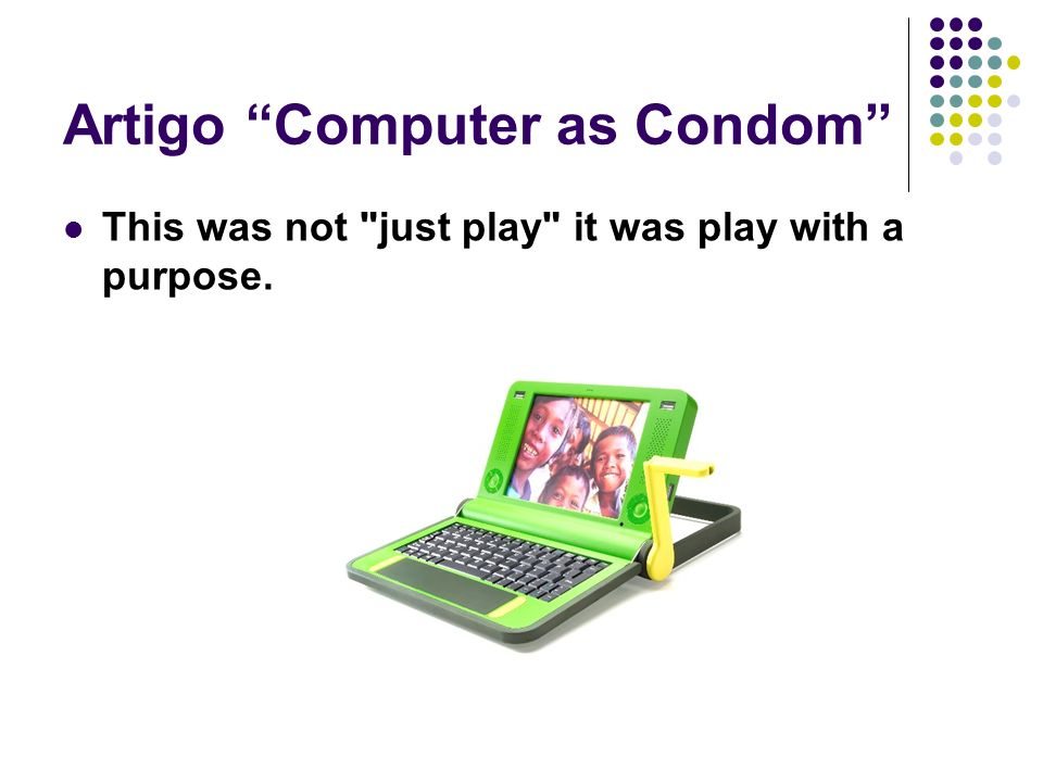 Artigo Computer as Condom