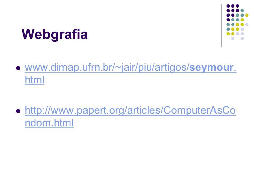 Webgrafia www.dimap.ufrn.br/~jair/piu/artigos/seymour.html