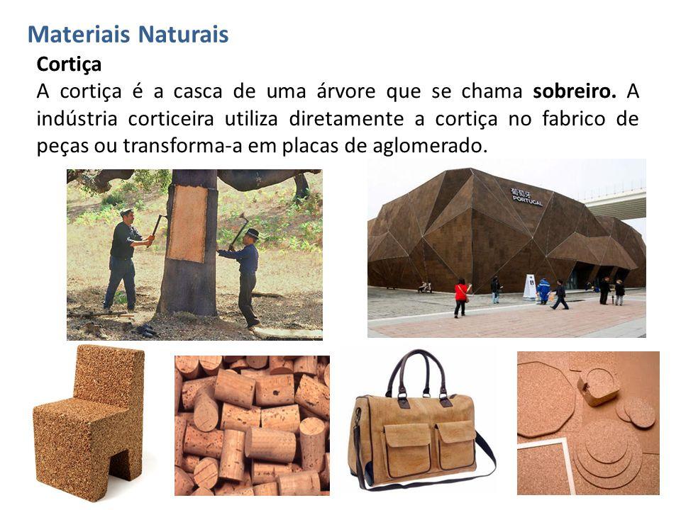 Materiais Naturais Cortiça