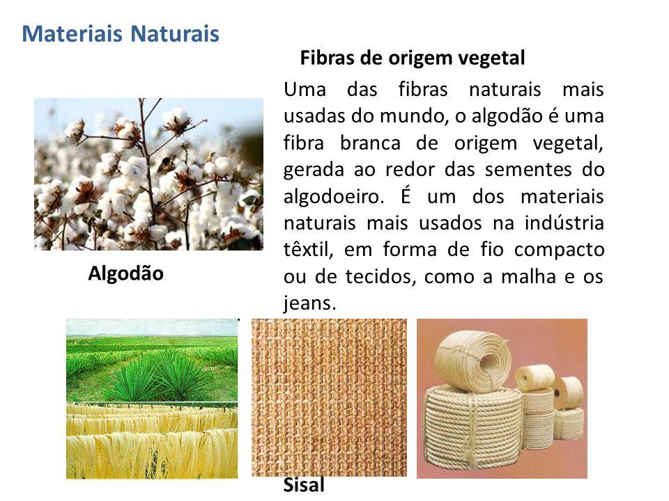 Fibras de origem vegetal