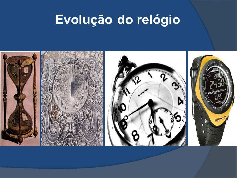 Evolução do relógio