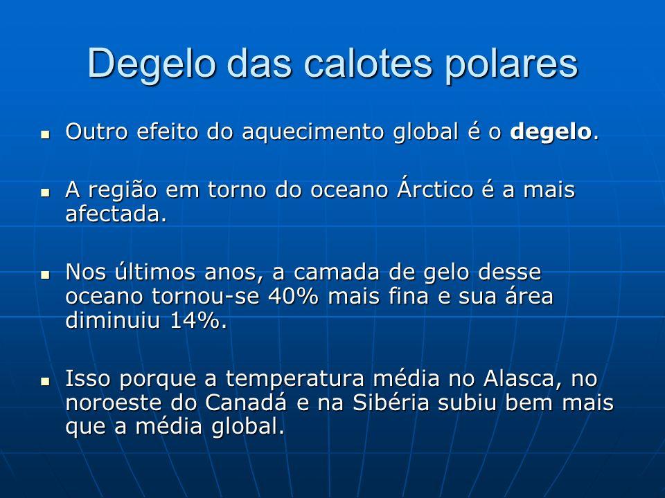 Degelo das calotes polares