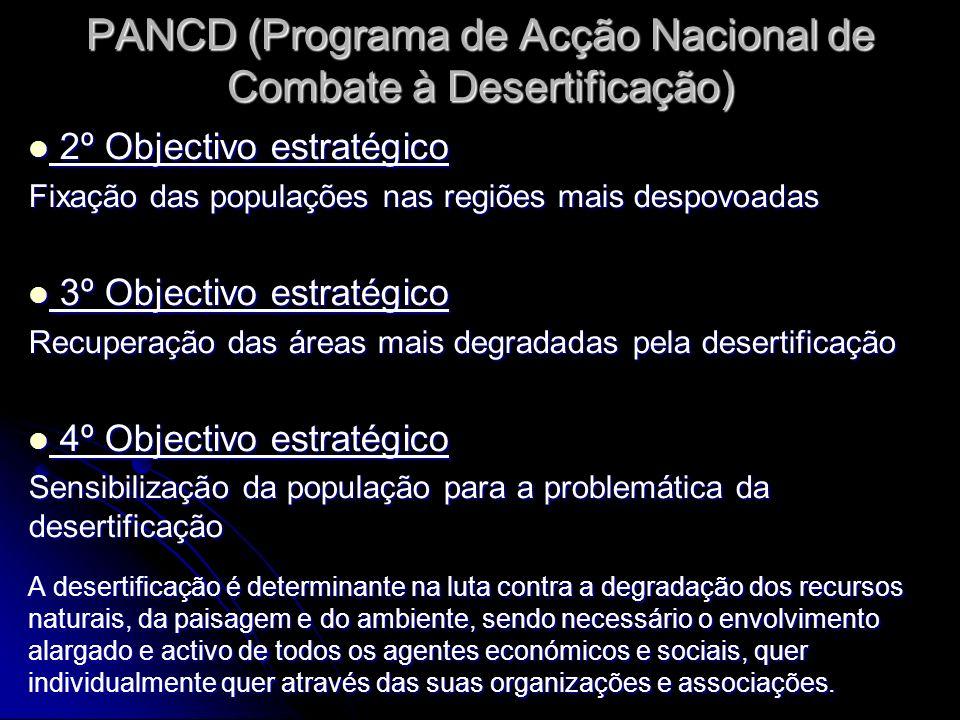 PANCD (Programa de Acção Nacional de Combate à Desertificação)