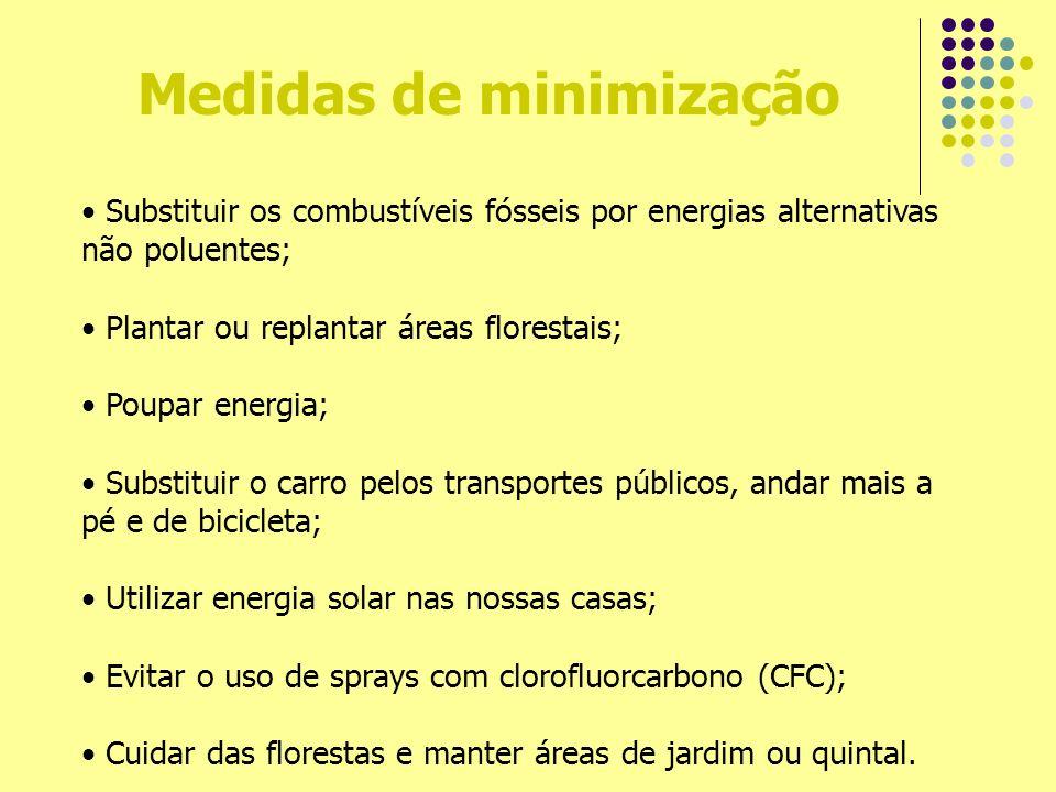 Medidas de minimização
