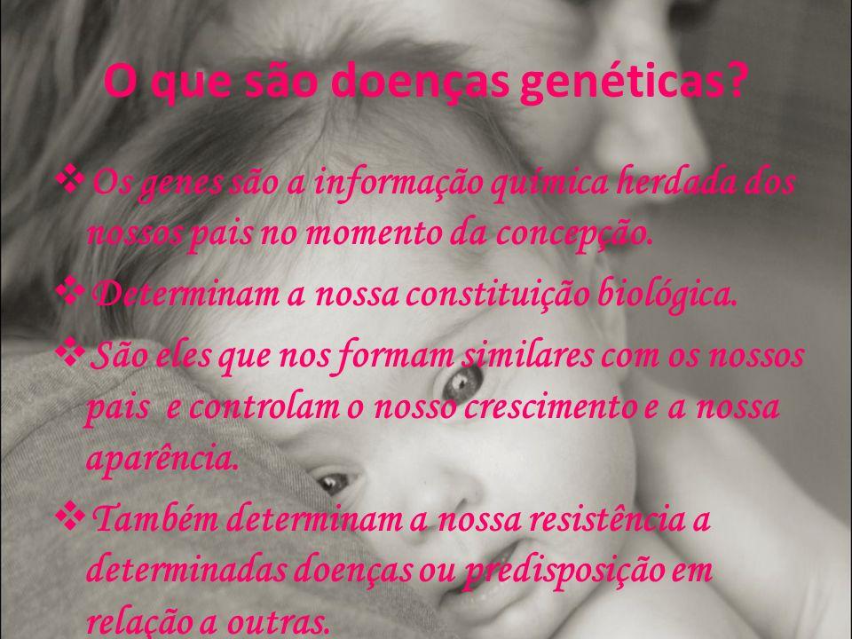O que são doenças genéticas