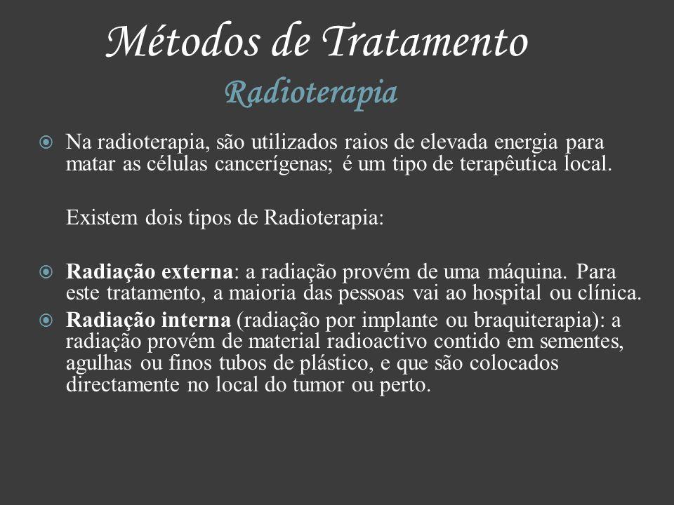 Métodos de Tratamento Radioterapia