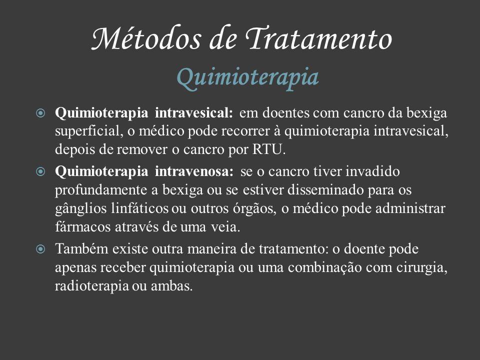 Métodos de Tratamento Quimioterapia
