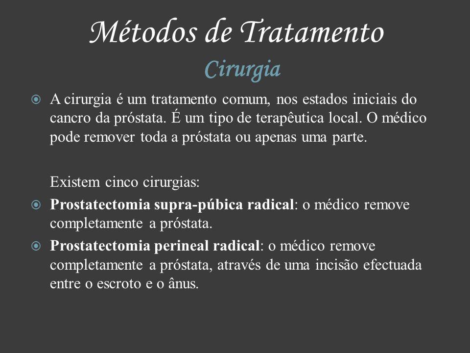 Métodos de Tratamento Cirurgia