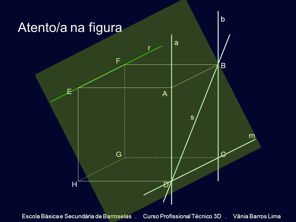 Atento/a na figura b a r A D B C E F H G s m