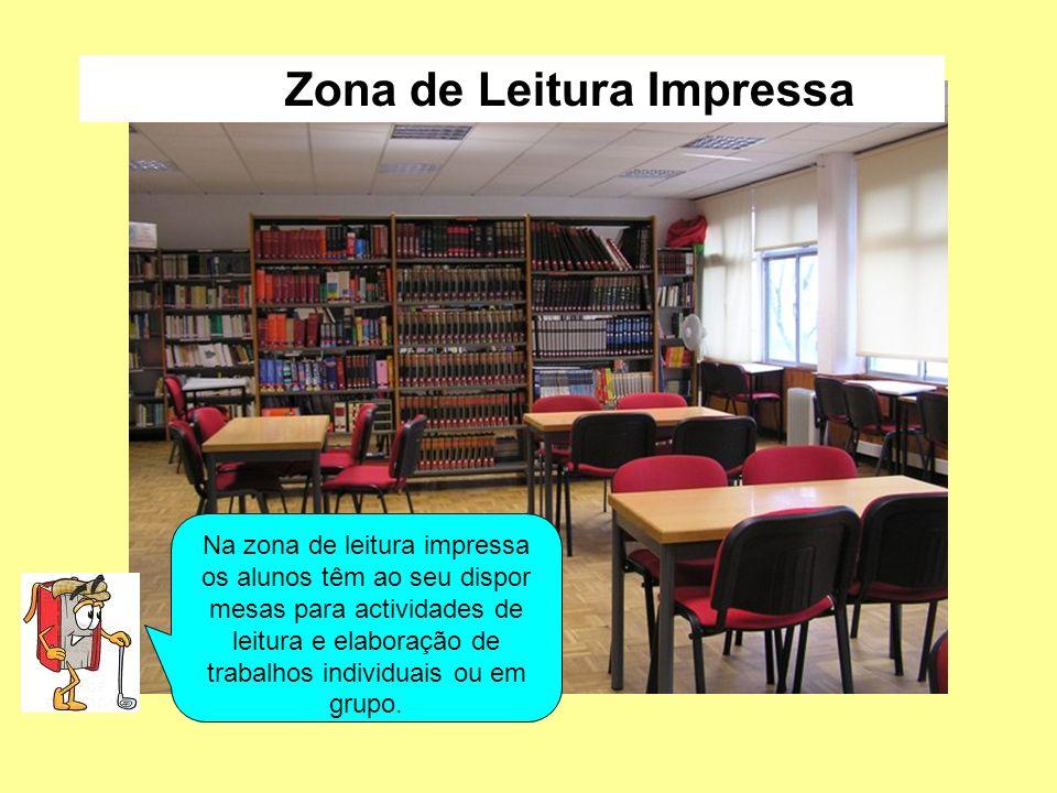 Zona de Leitura Impressa