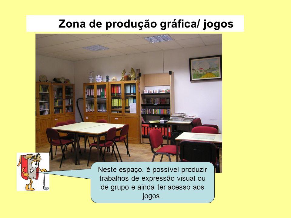 Zona de produção gráfica/ jogos