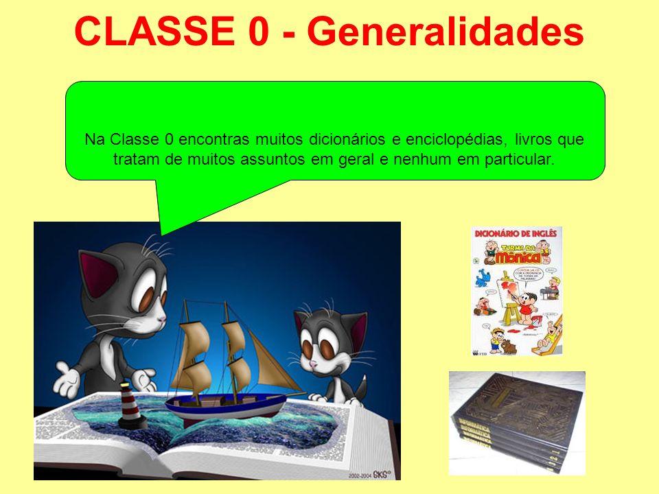 CLASSE 0 - Generalidades