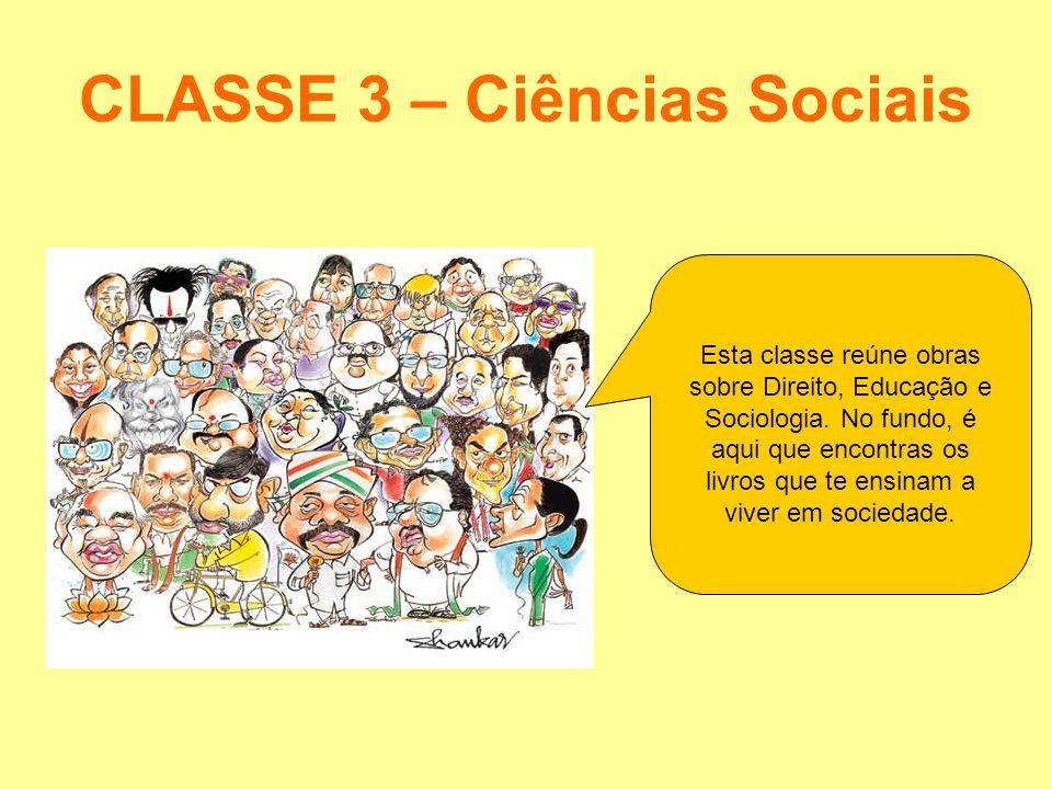 CLASSE 3 – Ciências Sociais