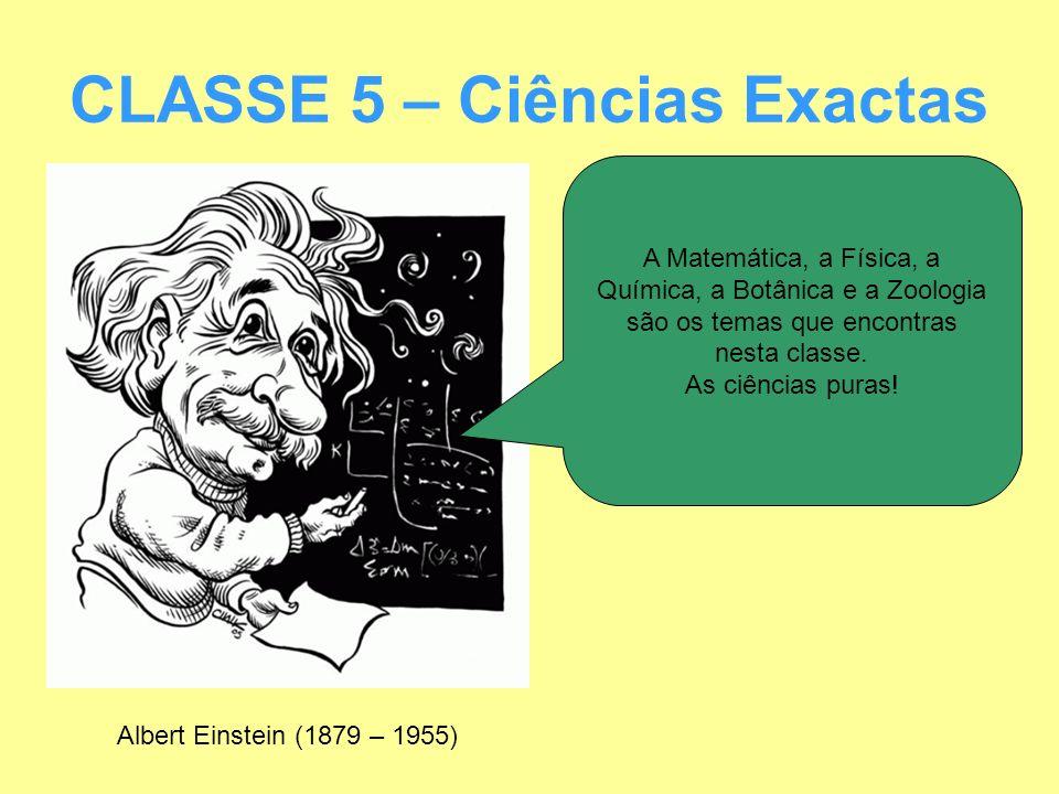 CLASSE 5 – Ciências Exactas
