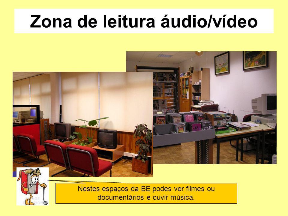 Zona de leitura áudio/vídeo