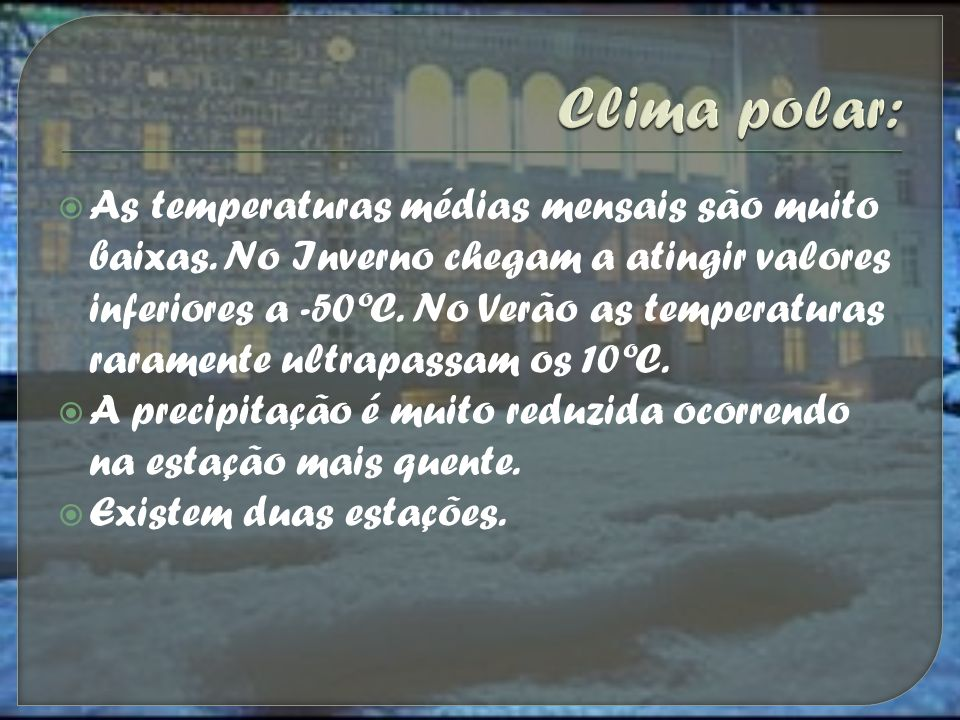 Clima polar: