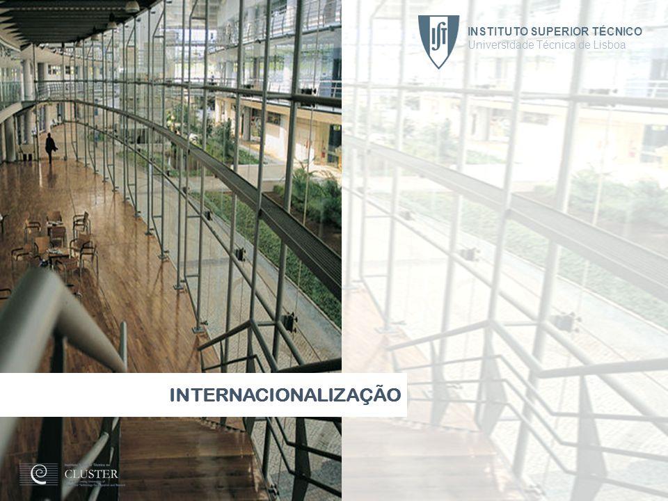 INTERNACIONALIZAÇÃO INSTITUTO SUPERIOR TÉCNICO