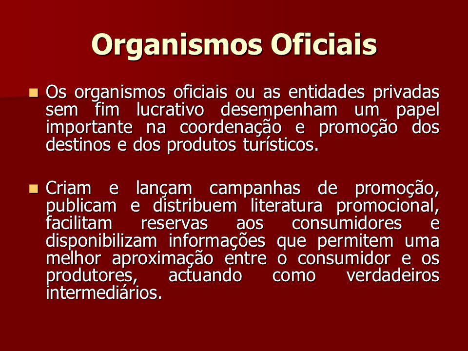 Organismos Oficiais