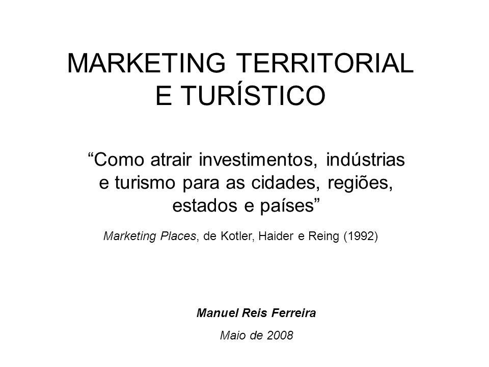 MARKETING TERRITORIAL E TURÍSTICO