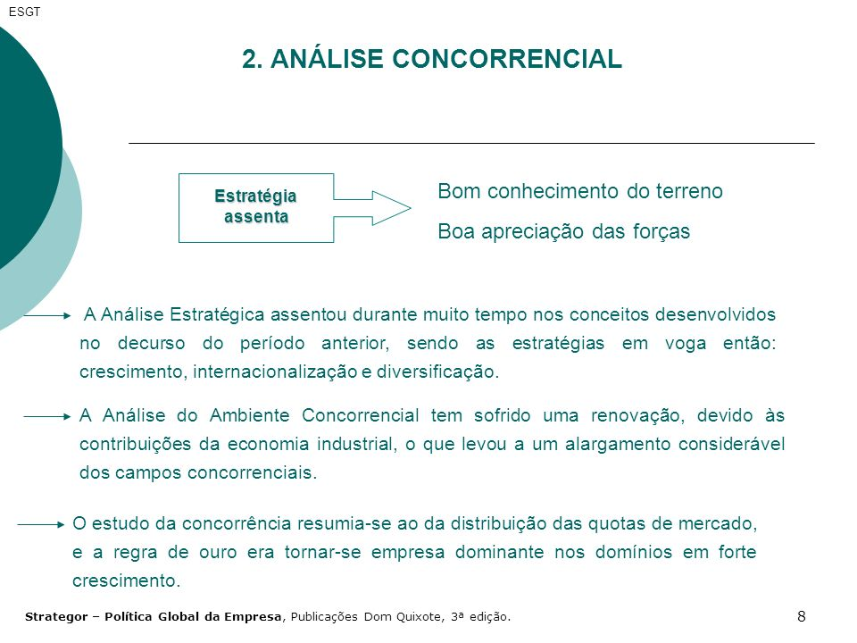 2. ANÁLISE CONCORRENCIAL