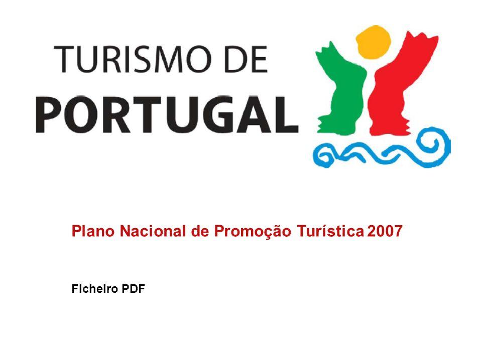 Plano Nacional de Promoção Turística 2007