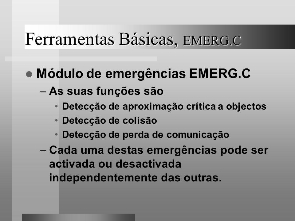 Ferramentas Básicas, EMERG.C