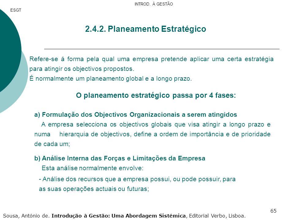 2.4.2. Planeamento Estratégico