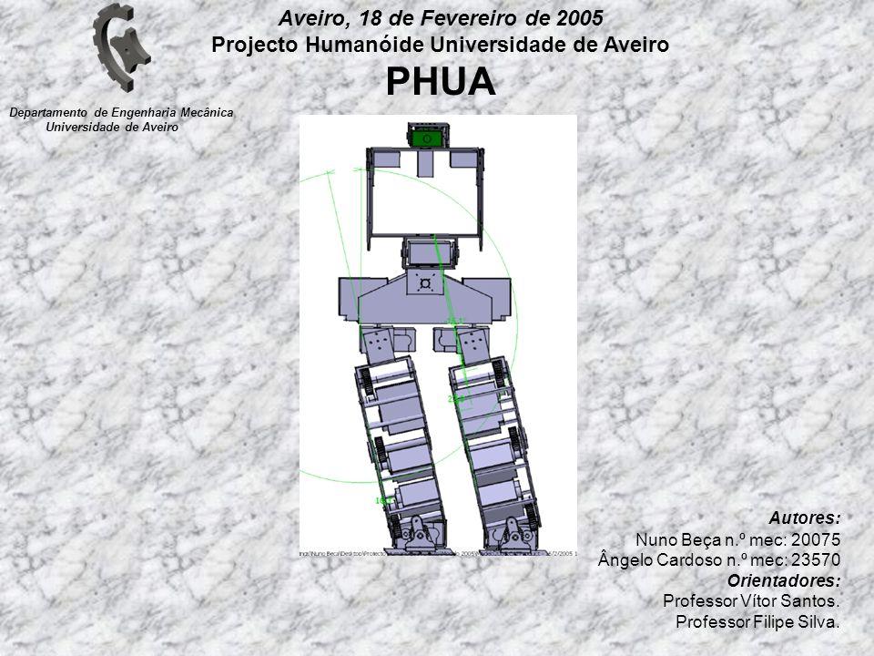 Projecto Humanóide Universidade de Aveiro