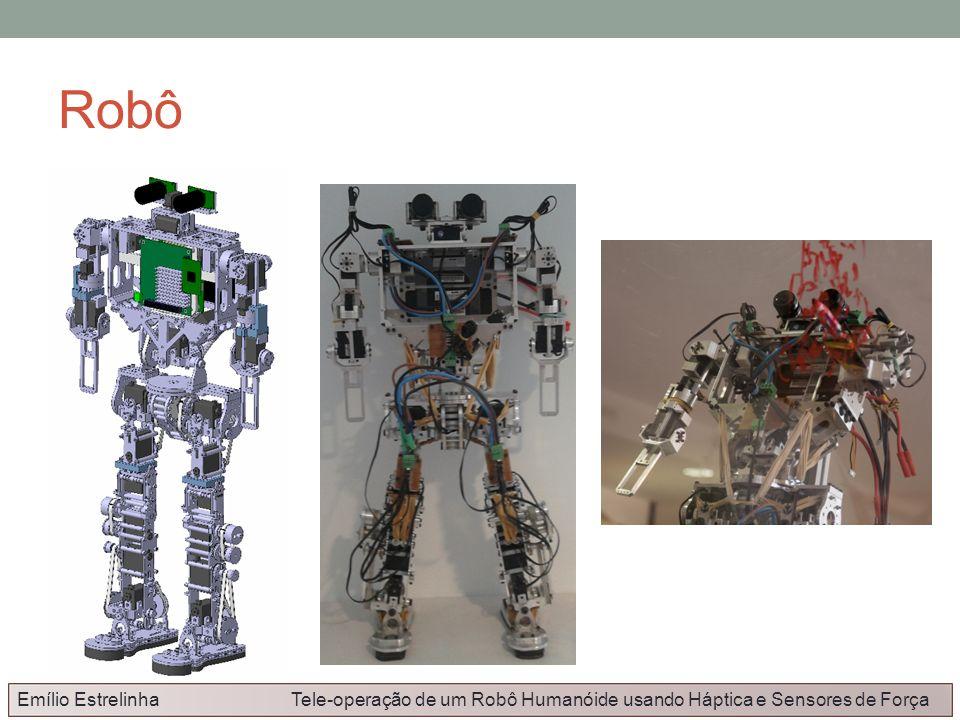 Robô Emílio Estrelinha Tele-operação de um Robô Humanóide usando Háptica e Sensores de Força.