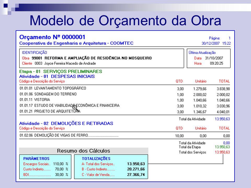 Cobra or amento de obras ppt video online carregar - Modelos de barbacoas de obra ...