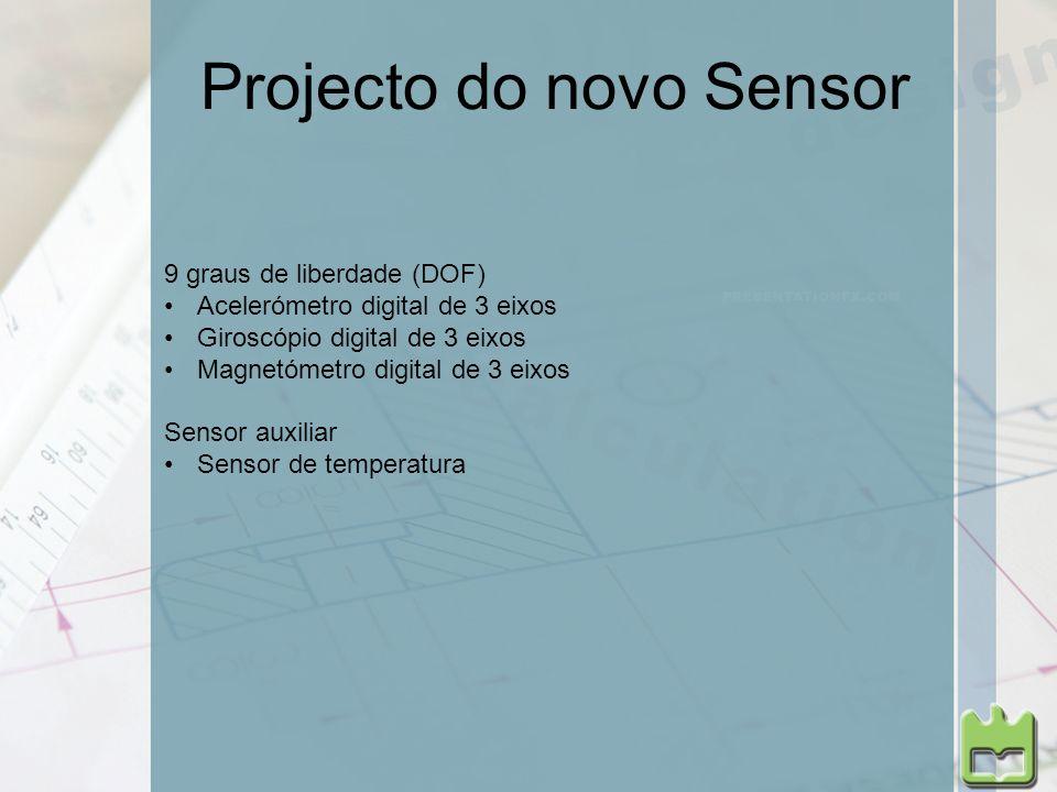 Projecto do novo Sensor