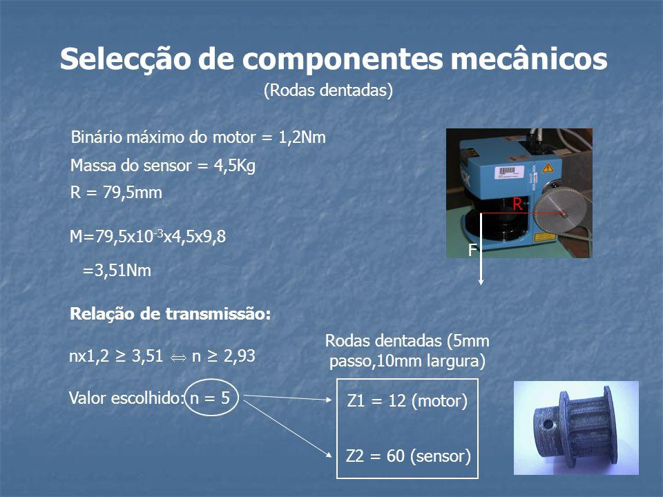 Selecção de componentes mecânicos