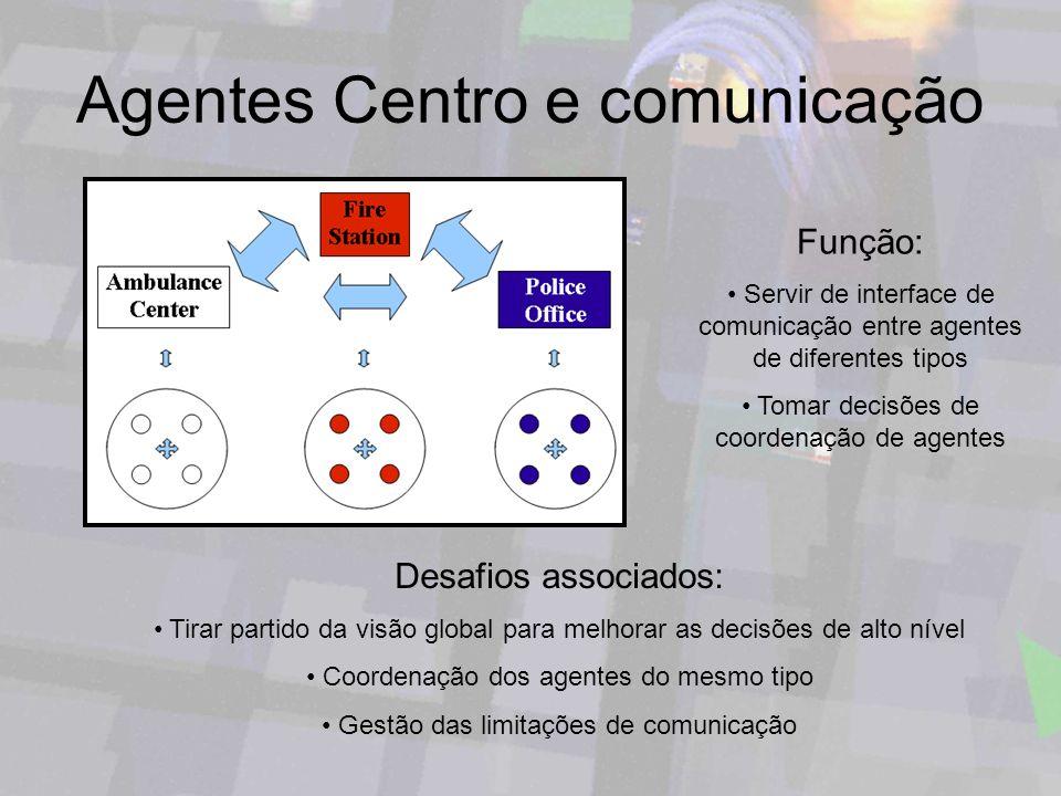 Agentes Centro e comunicação