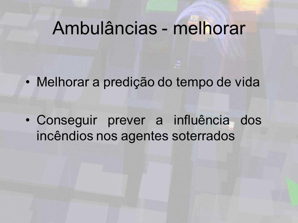 Ambulâncias - melhorar