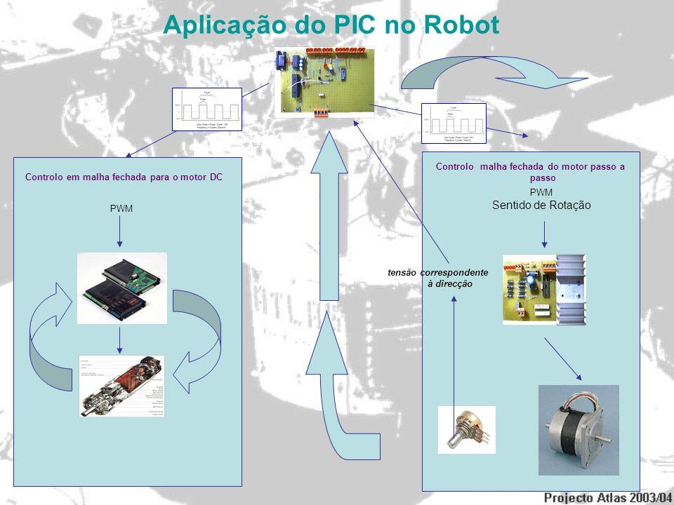 Aplicação do PIC no Robot