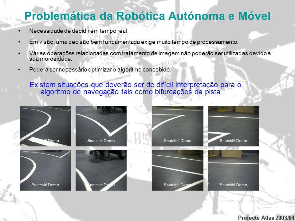 Problemática da Robótica Autónoma e Móvel