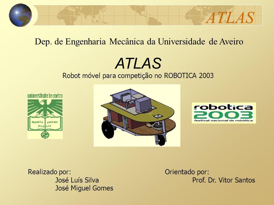 Robot móvel para competição no ROBOTICA 2003