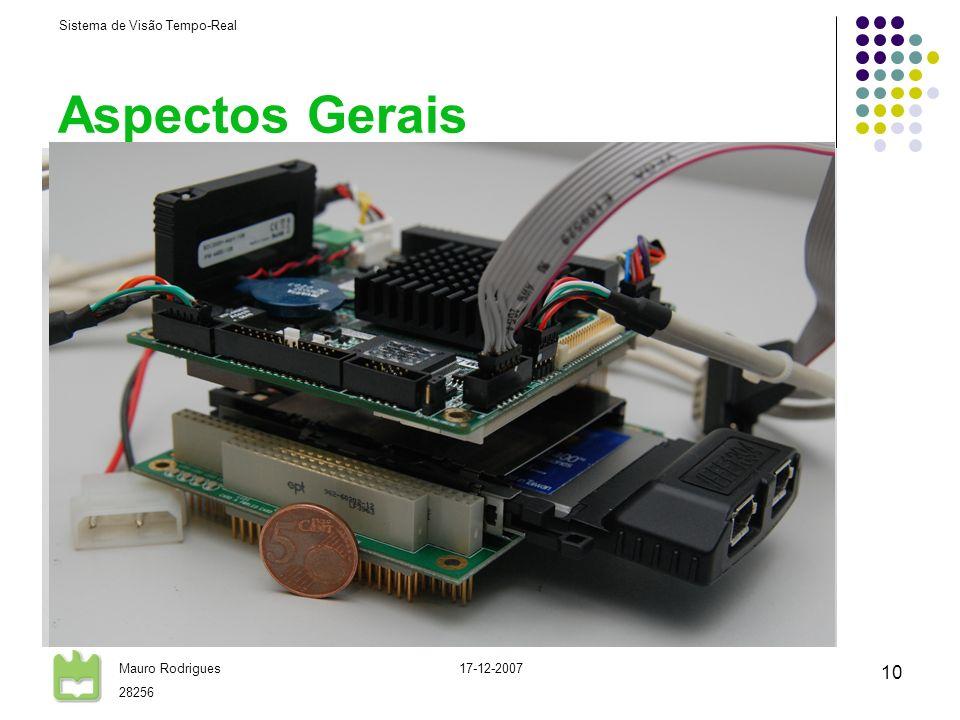 Aspectos Gerais CPU standard PC104 plus AMD Geode LX-800 @ 500MHz