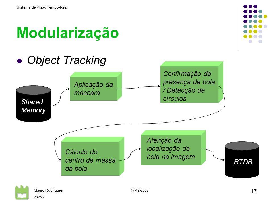 Modularização Object Tracking