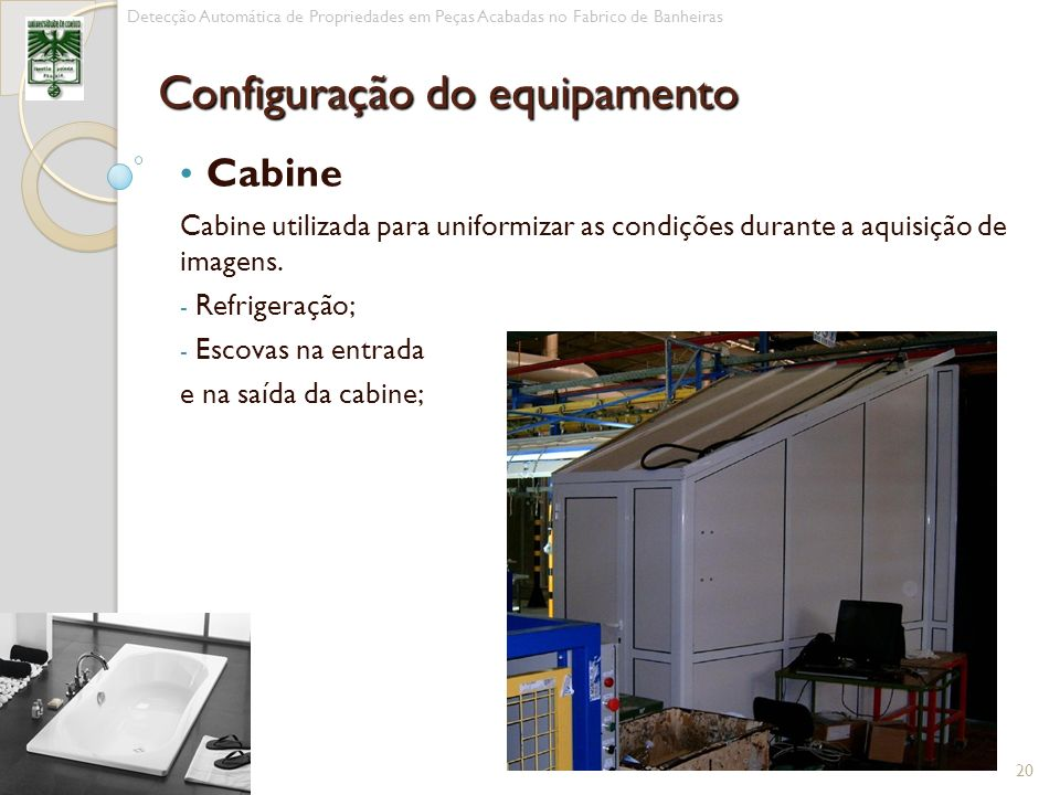 Configuração do equipamento