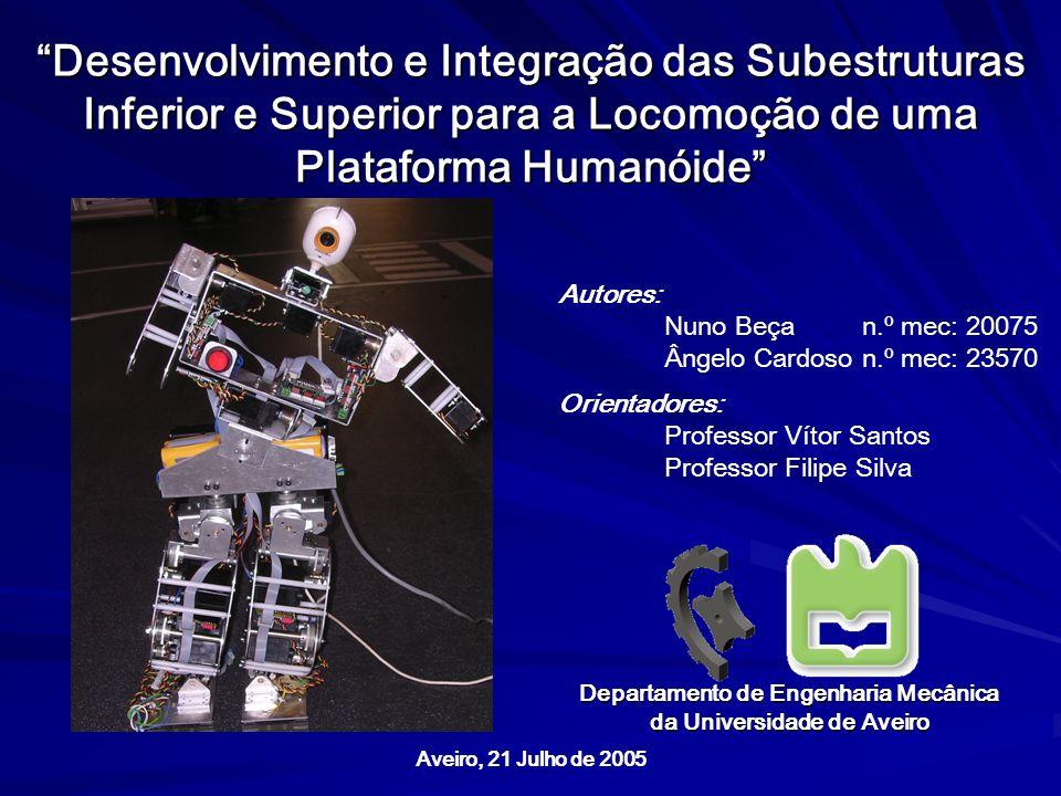 Departamento de Engenharia Mecânica da Universidade de Aveiro