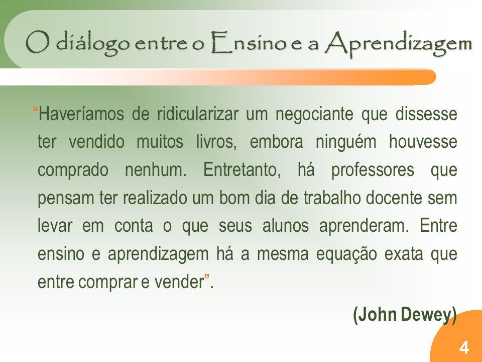 O diálogo entre o Ensino e a Aprendizagem