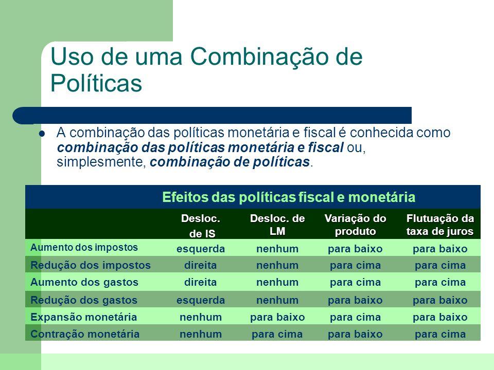 Uso de uma Combinação de Políticas