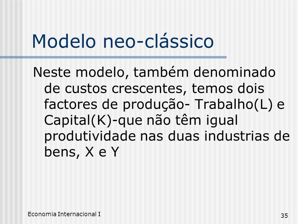 Modelo neo-clássico