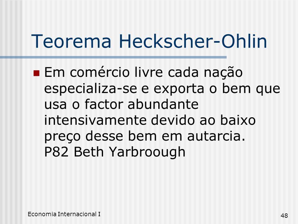 Teorema Heckscher-Ohlin
