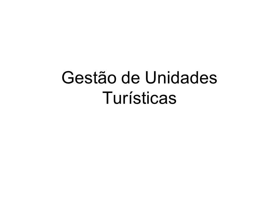 Gestão de Unidades Turísticas