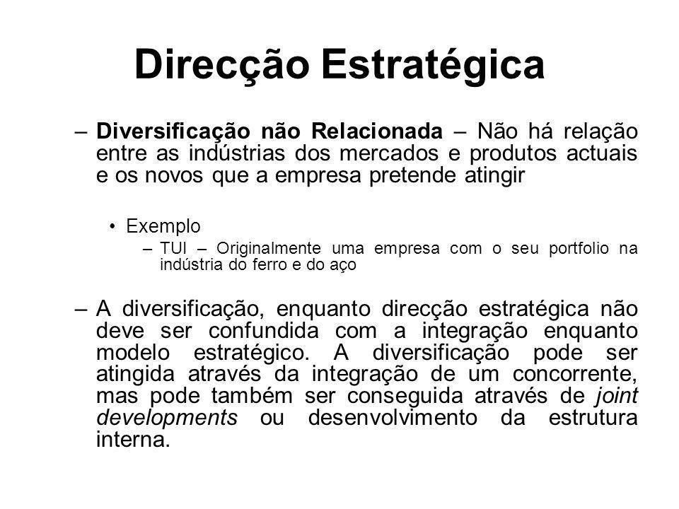 Direcção Estratégica