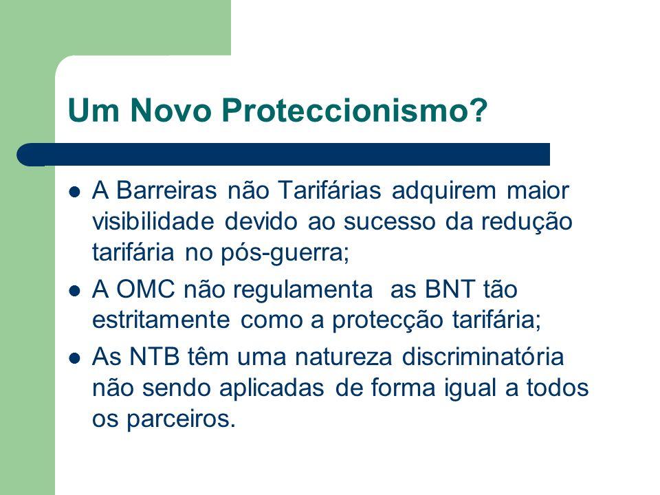 Um Novo Proteccionismo