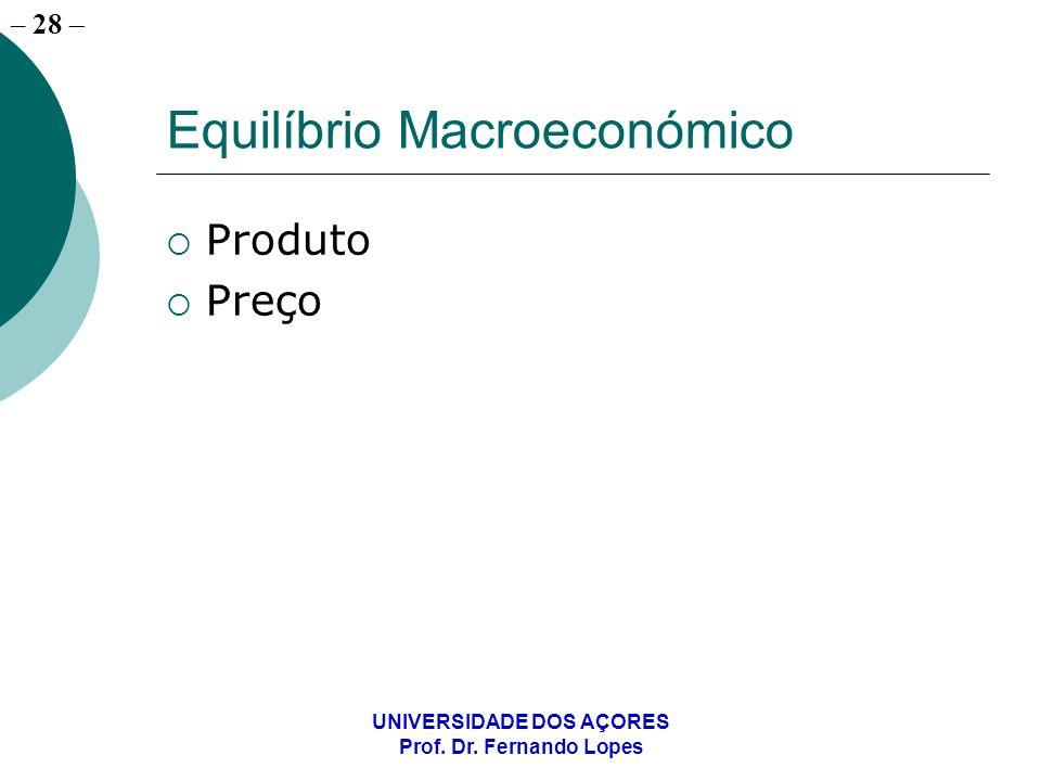 Equilíbrio Macroeconómico
