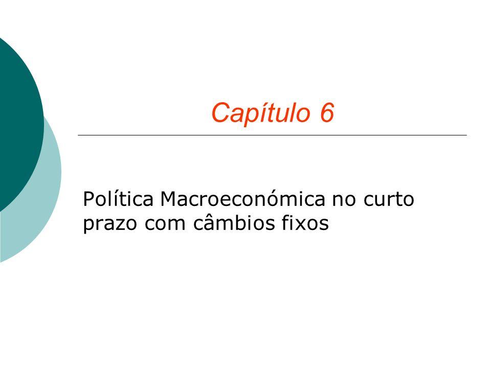 Política Macroeconómica no curto prazo com câmbios fixos